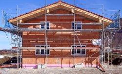 Bau eines Hauses